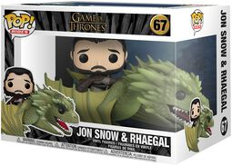 Jon Snow and Rhaegal (Pop Rides) Vinyl Figure 67 (figuuri)