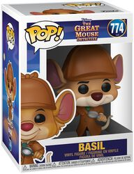 Basil the Great Mouse Detective Basil Vinyl Figure 774 (figuuri)