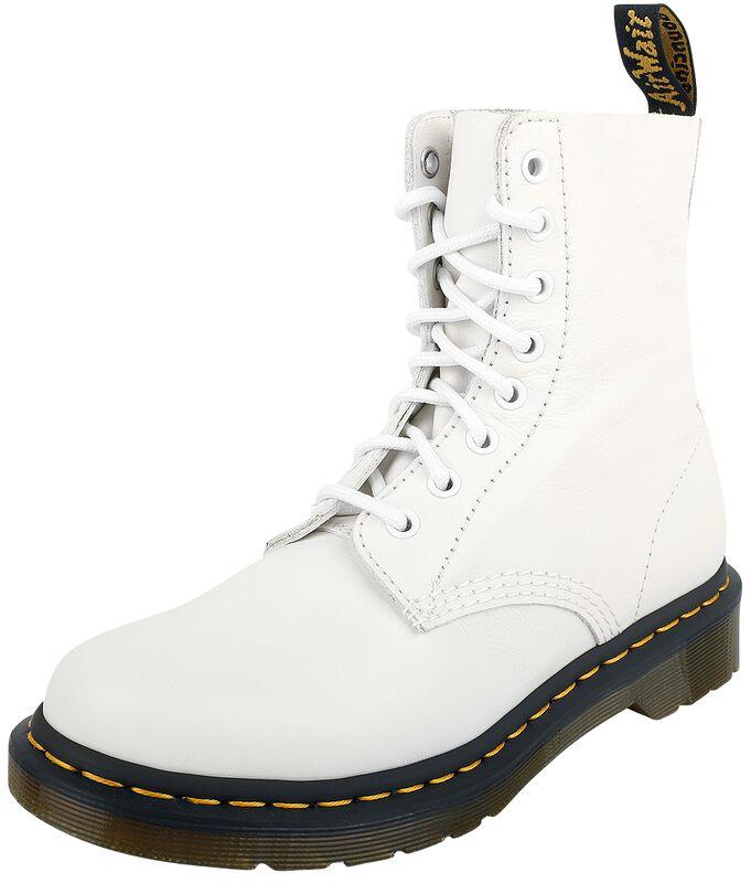 1460 Pascal Optical White Virginia 8 Eye Boot maiharit