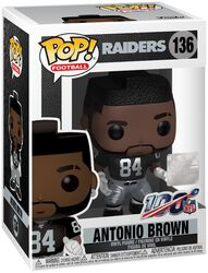 Raiders - Antonio Brown Vinyl Figure 136 (figuuri)