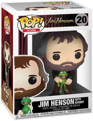 Jim Henson with Kermit Vinyl Figure 20 (figuuri)