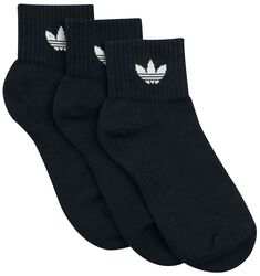Mid Ankle Socks 3-Pack