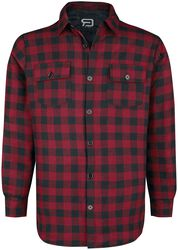 Checked Shirt black/red