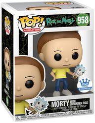 Morty with Shrunken Rick (Funko Shop Europe) Vinyl Figure 958 (figuuri)