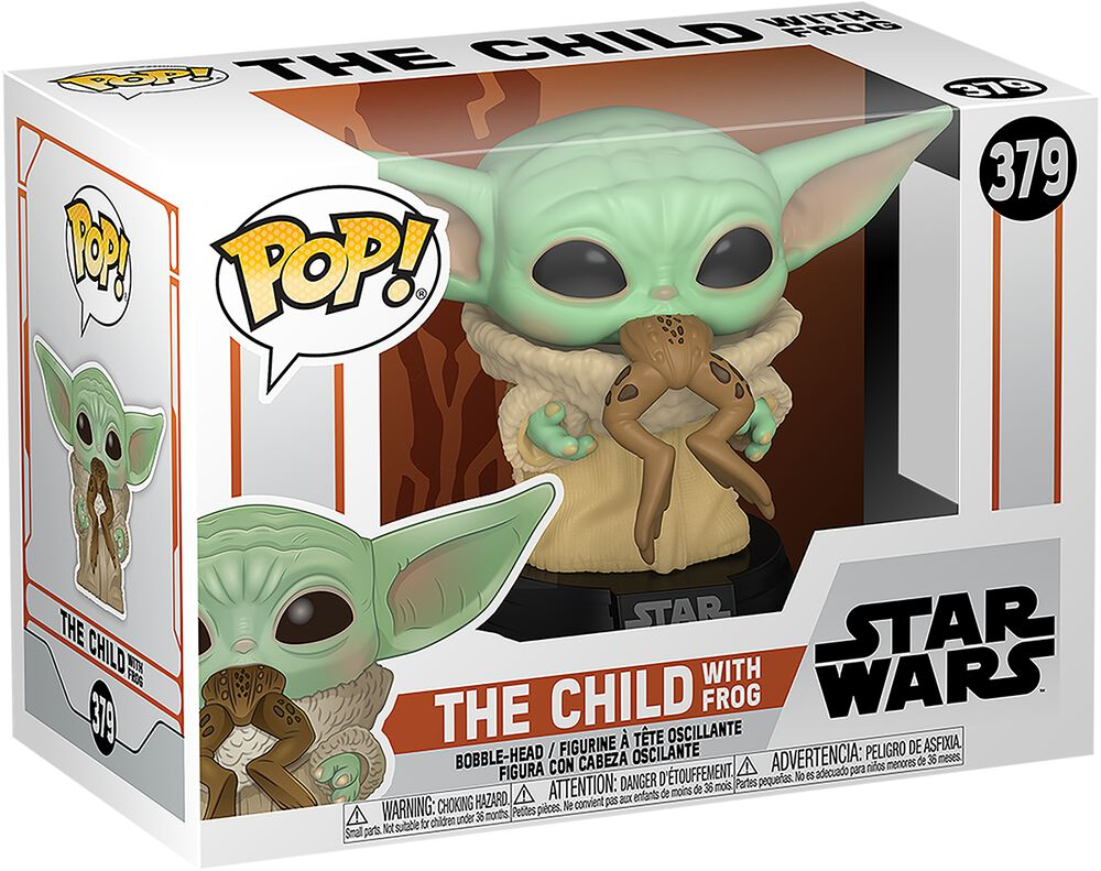 The Mandalorian - The Child With Frog Vinyl Figure 379 (figuuri)