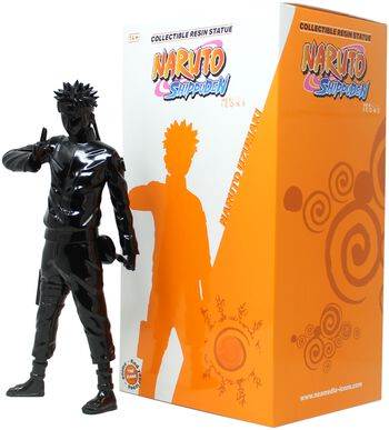 Shippuden - The Will of Fire - The Epic Ninja Statue Black