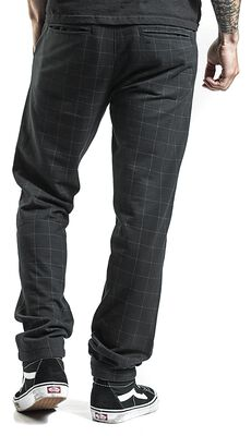 Club Trousers with Elastic Waist Slim Fit