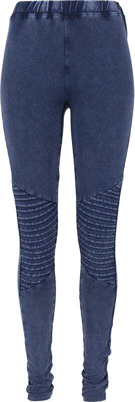 Denim Jersey Leggings