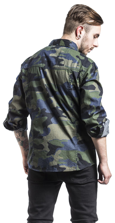 Curt Denim Shirt Slim Fit  0da602d08c