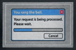 You rang the bell