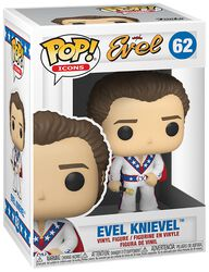 Evel Knievel Evel Knievel (Chase-mahdollisuus) Vinyl Figure 62 (figuuri)