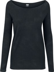 Ladies Raglan Long Sweater svetari
