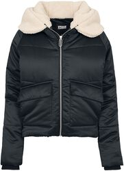 Ladies Sherpa Hooded Jacket