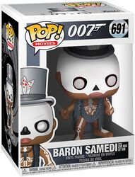 Baron Samedi (From Live And Let Die) Vinyl Figure 691 (figuuri)