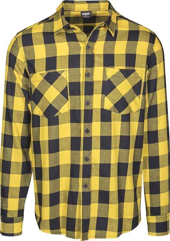 Checked Flannel Shirt flanellipaita