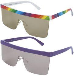 Pride aurinkolasit (2 kpl setti)