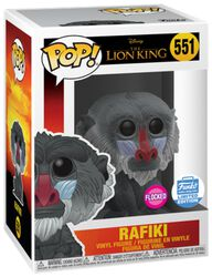 Rafiki (Flocked) (Funko Shop Europe) Vinyl Figure 551 (figuuri)