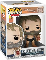 Cast Away - Tuuliajolla Chuck Noland and Wilson Vinyl Figure 791 (figuuri)