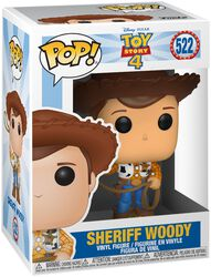 4- Sheriff Woody Vinyl Figure 522 (figuuri)