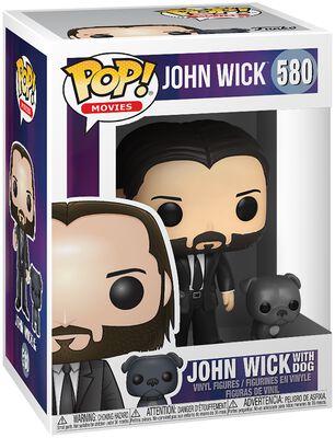 John Wick Chapter 3 - John Wick with Dog Vinyl Figure 580 (figuuri)