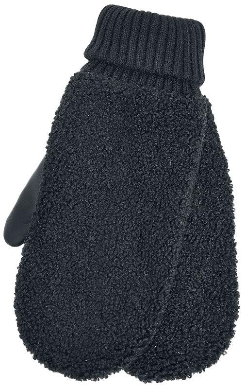 Sherpa Imitation Leather Gloves rukkaset