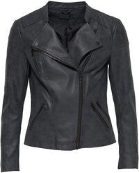 Ava Faux Leather Biker