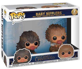 The Crimes of Grindelwald - Baby Nifflers 2-Pack Vinyl Figures (figuuri)