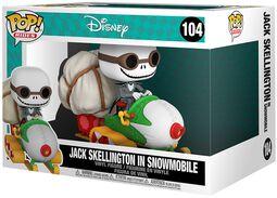 Jack Skellington in Snowmobile (POP Rides) Vinyl Figure 104 (figuuri)
