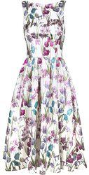 Antheia Metallic Swing Dress
