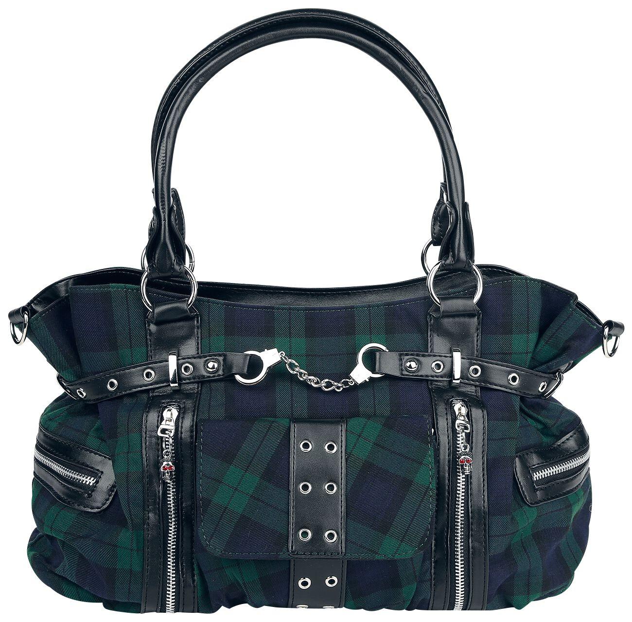 Osta Käsilaukku : Osta green tartan k?silaukku netist?