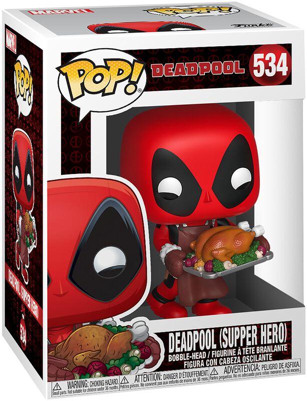 Deadpool (Supper Hero) (Holiday) - Vinyl Figure 534 (figuuri)