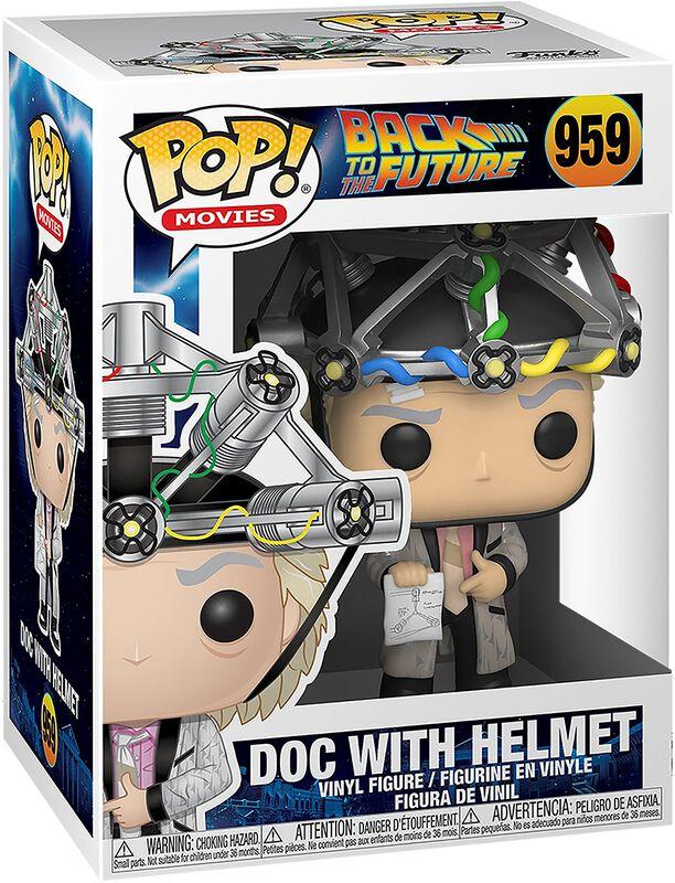 Doc with Helmet Vinyl Figure 959 (figuuri)