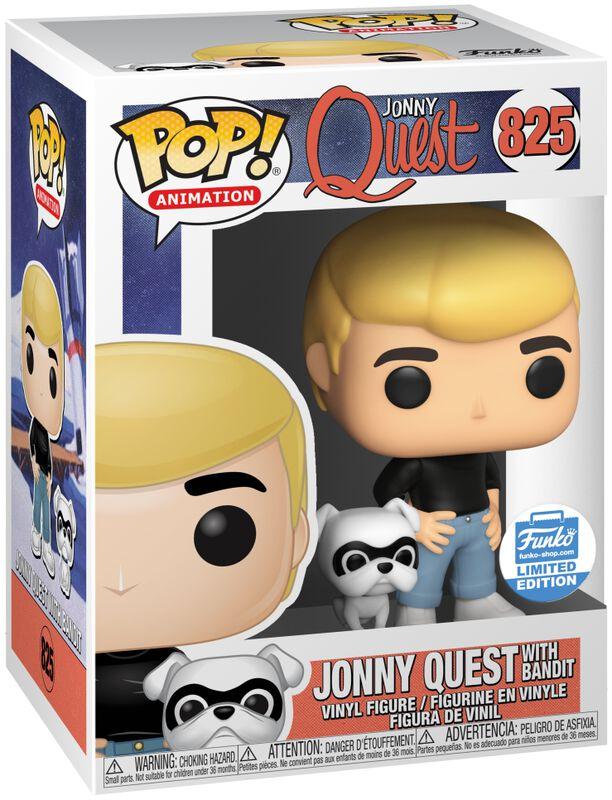 Jonny Quest with Bandit (Funko Shop Europe) Vinyl Figure 825 (figuuri)