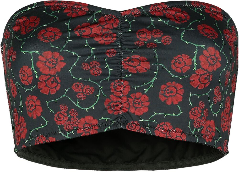 Full Volume Bandeau with All-Over Print
