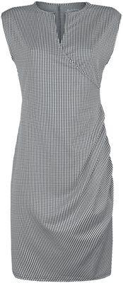Kukonaskelkuvioinen mekko