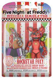 Pizza Simulator - Rockstar Foxy Action Figure (figuuri)
