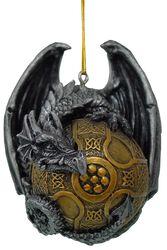 Lohikäärme-joulupallo