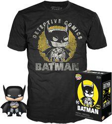 Batman (Sun Faded) POP!-figuuri & T-apita