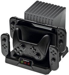 Nintendo Switch Dual Charge:Base S - lataus- & säilytysasema