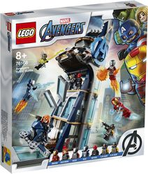 76166 - Avengers Tower Battle
