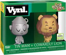 The Wizard Of Oz ECCC 2019 -  Tin Man + Cowardly Lion (VYNL) Vinyl Figure (figuuri)