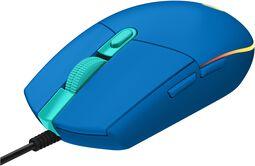 G203 Blue Lightsync Gaming Mouse - pelihiiri