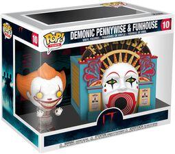 Chapter 2 - Demonic Pennywise & Funhouse (Pop! Town) Vinyl Figure 10 (figuuri)