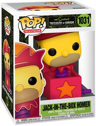 Treehouse Of Horror - Jack-In-The-Box Homer 1031 (figuuri)