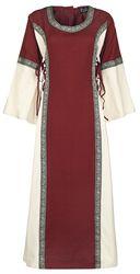 Cotton Dress with Trim