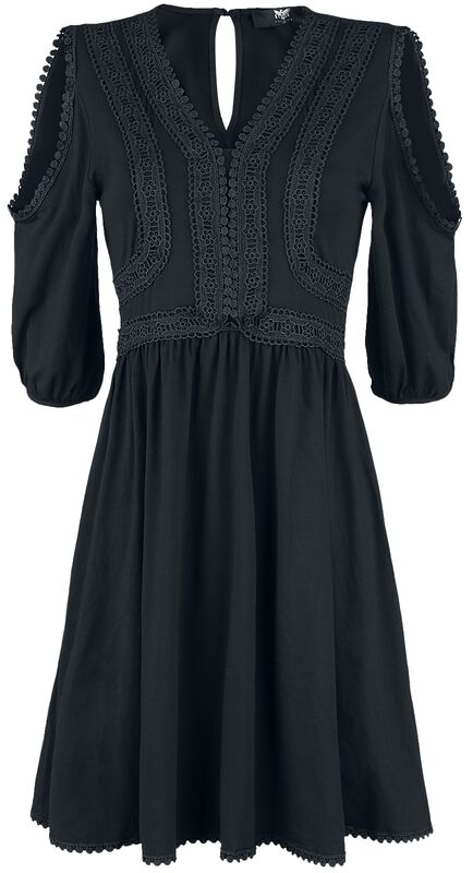 Boho-tyylinen Black Premium -mekko