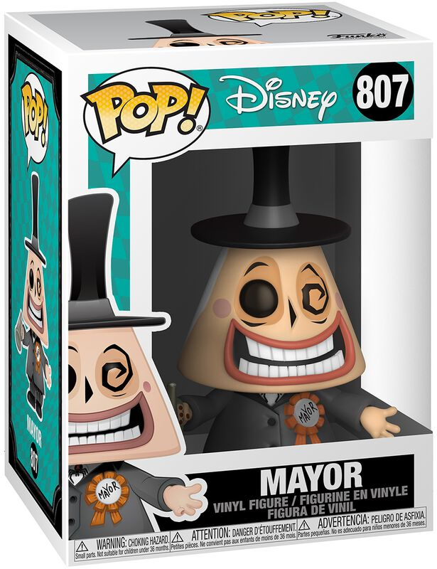 Mayor (Chase-mahdollisuus) Vinyl Figure 807 (figuuri)