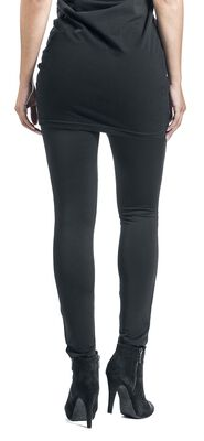 Leggings With Lace Insert