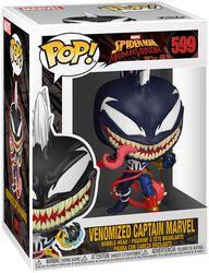 Maximum Venom - Venomized Captain Marvel Vinyl Figure 599 (figuuri)