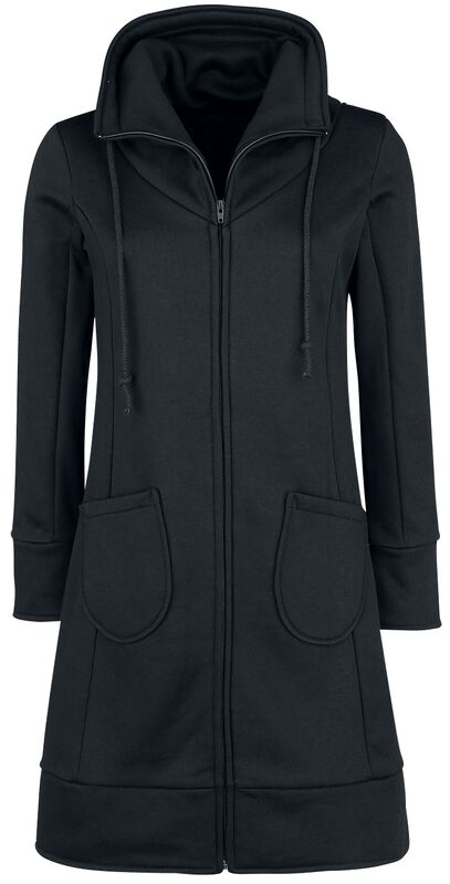 High Neck Sweat Coat